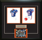 Florida Gators 2006 - Heritage Sports Art - original watercolor artwork