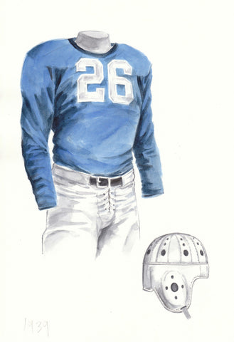Penn State Nittany Lions 1939 - Heritage Sports Art - original watercolor artwork - 1