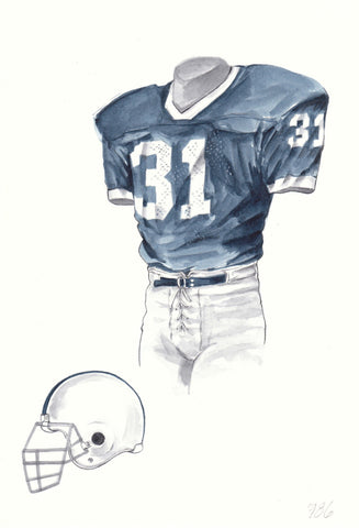 Penn State Nittany Lions 1986 - Heritage Sports Art - original watercolor artwork - 1