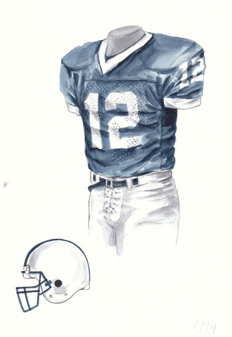 Penn State Nittany Lions 1994 - Heritage Sports Art - original watercolor artwork - 1