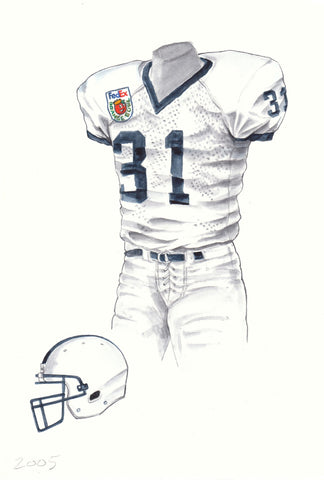 Penn State Nittany Lions 2005 - Heritage Sports Art - original watercolor artwork - 1
