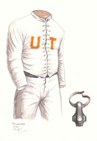 Tennessee Volunteers 1892 - Heritage Sports Art - original watercolor artwork - 1
