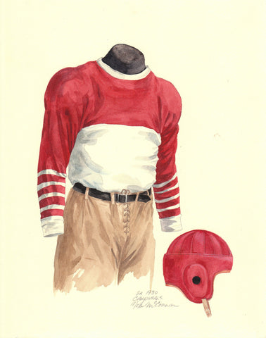 Arizona Cardinals 1930 - Heritage Sports Art - original watercolor artwork - 1