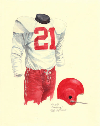 Arizona Cardinals 1956 - Heritage Sports Art - original watercolor artwork - 1