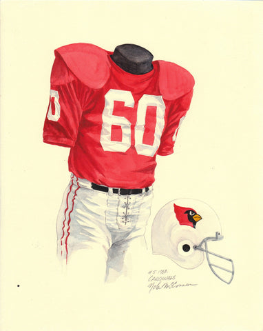 Arizona Cardinals 1962 - Heritage Sports Art - original watercolor artwork - 1