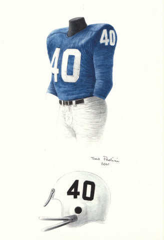 Buffalo Bills 1960 - Heritage Sports Art - original watercolor artwork - 1