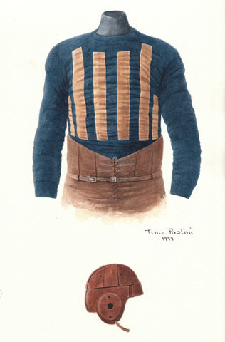 Chicago Bears 1920 - Heritage Sports Art - original watercolor artwork - 1