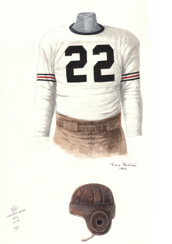 Chicago Bears 1932 - Heritage Sports Art - original watercolor artwork - 1