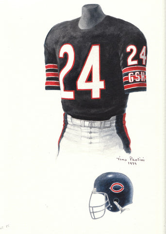 Chicago Bears 1985 - Heritage Sports Art - original watercolor artwork - 1