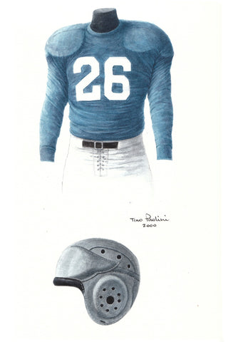 Detroit Lions 1935 - Heritage Sports Art - original watercolor artwork - 1