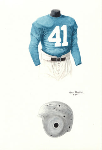 Detroit Lions 1938 - Heritage Sports Art - original watercolor artwork - 1