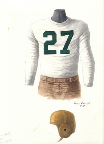 Green Bay Packers 1939 - Heritage Sports Art - original watercolor artwork - 1