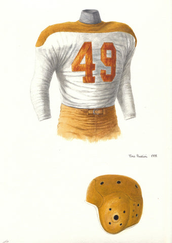 Green Bay Packers 1946 - Heritage Sports Art - original watercolor artwork - 1