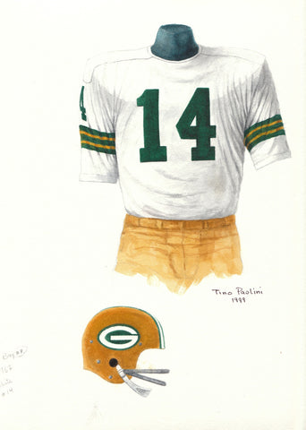 Green Bay Packers 1967 - Heritage Sports Art - original watercolor artwork - 1