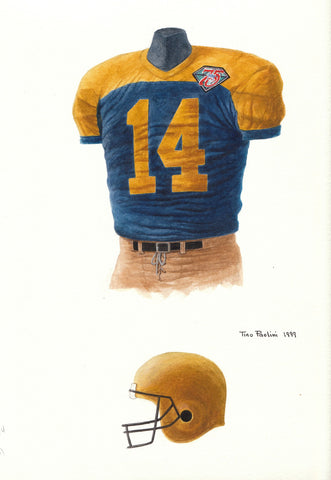 Green Bay Packers 1994 - Heritage Sports Art - original watercolor artwork - 1