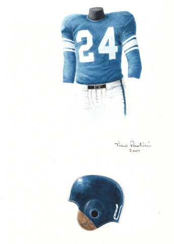 Indianapolis Colts 1954 - Heritage Sports Art - original watercolor artwork - 1
