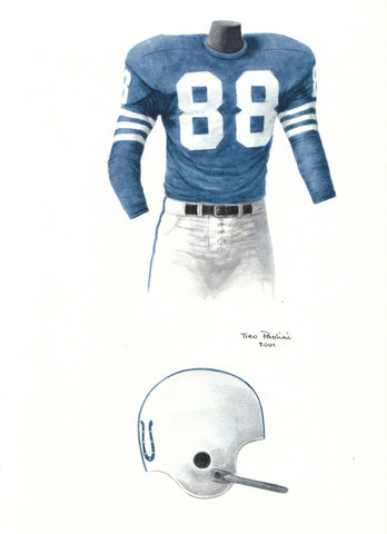 Indianapolis Colts 1956 - Heritage Sports Art - original watercolor artwork - 1