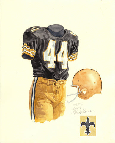 New Orleans Saints 1971