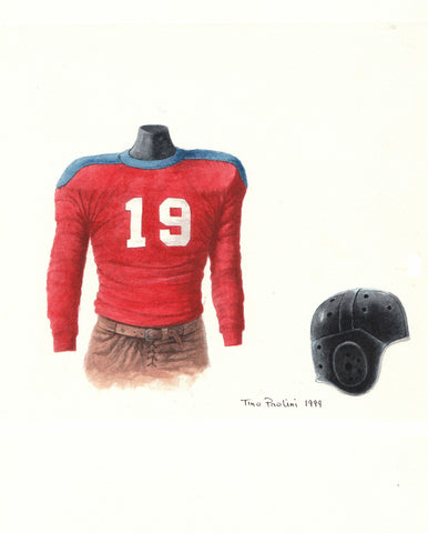 New York Giants 1930 - Heritage Sports Art - original watercolor artwork - 1