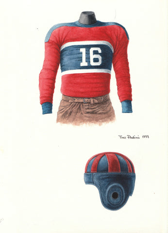 New York Giants 1933 - Heritage Sports Art - original watercolor artwork - 1