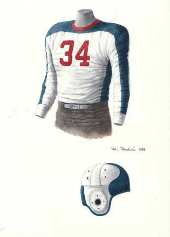 New York Giants 1936 - Heritage Sports Art - original watercolor artwork - 1