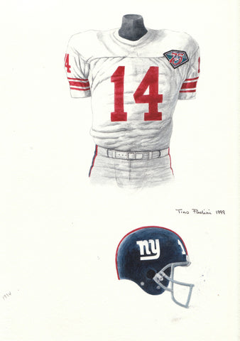 New York Giants 1994 - Heritage Sports Art - original watercolor artwork - 1