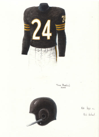 Oakland Raiders 1960 - Heritage Sports Art - original watercolor artwork - 1
