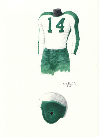 Philadelphia Eagles 1945 - Heritage Sports Art - original watercolor artwork - 1