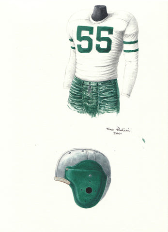 Philadelphia Eagles 1948 - Heritage Sports Art - original watercolor artwork - 1