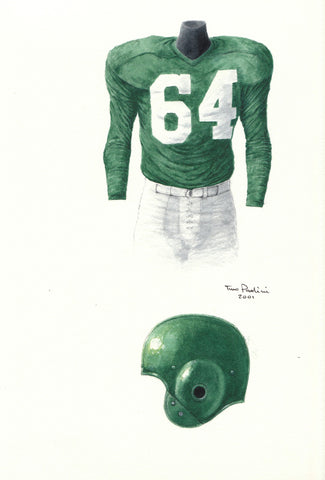 Philadelphia Eagles 1953 - Heritage Sports Art - original watercolor artwork - 1