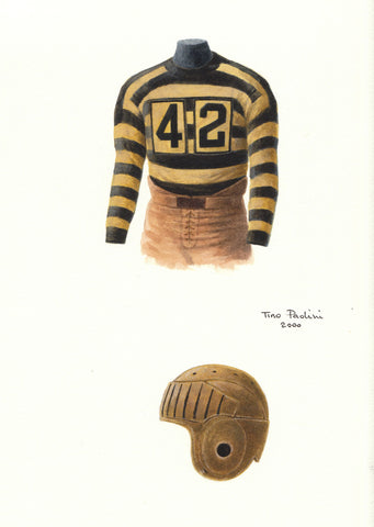 Pittsburgh Steelers 1934 - Heritage Sports Art - original watercolor artwork - 1