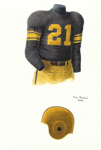 Pittsburgh Steelers 1954 - Heritage Sports Art - original watercolor artwork - 1