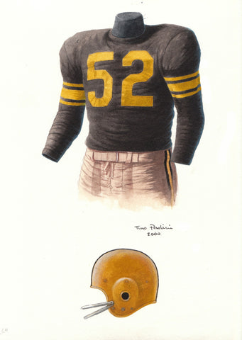 Pittsburgh Steelers 1960 - Heritage Sports Art - original watercolor artwork - 1