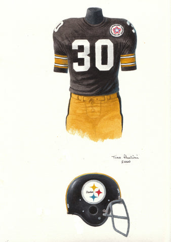 Pittsburgh Steelers 1975 - Heritage Sports Art - original watercolor artwork - 1