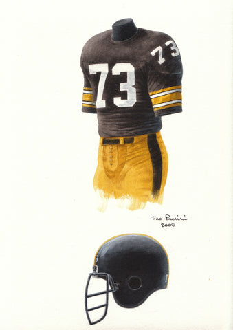 Pittsburgh Steelers 1978 - Heritage Sports Art - original watercolor artwork - 1