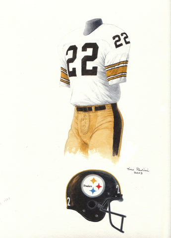 Pittsburgh Steelers 1979 - Heritage Sports Art - original watercolor artwork - 1