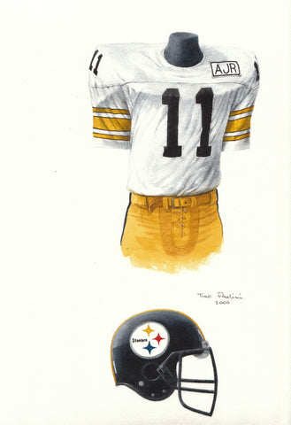 Pittsburgh Steelers 1988 - Heritage Sports Art - original watercolor artwork - 1