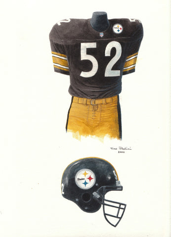 Pittsburgh Steelers 2000 - Heritage Sports Art - original watercolor artwork - 1