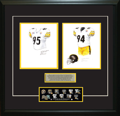 Pittsburgh Steelers 2005 - Heritage Sports Art - original watercolor artwork