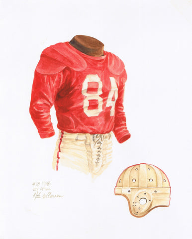 San Francisco 49ers 1948 - Heritage Sports Art - original watercolor artwork - 1