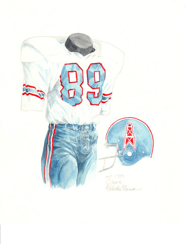 Tennessee Titans 1973 - Heritage Sports Art - original watercolor artwork - 1