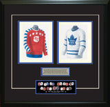 NHL All-Star 1947-48 - Heritage Sports Art - original watercolor artwork