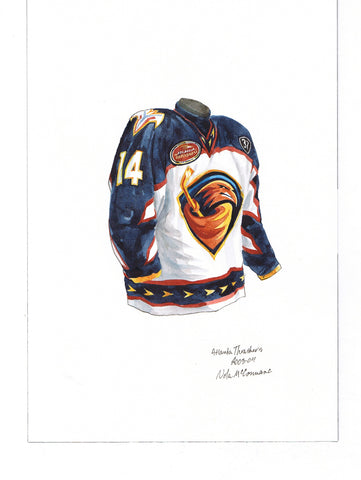 Winnipeg Jets 2003-04 - Heritage Sports Art - original watercolor artwork - 1