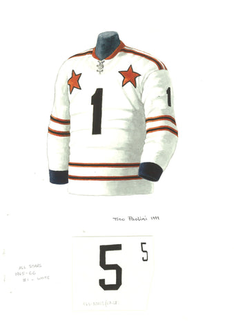 Bobby Orr 1967-68 All-Star - Heritage Sports Art - original watercolor artwork - 1