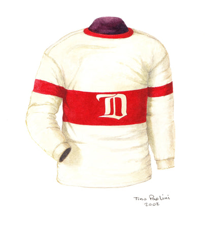 Detroit Red Wings 1926-27 - Heritage Sports Art - original watercolor artwork - 1