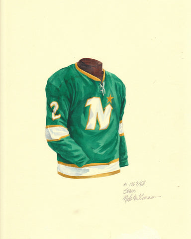 Dallas Stars 1967-68 - Heritage Sports Art - original watercolor artwork - 1