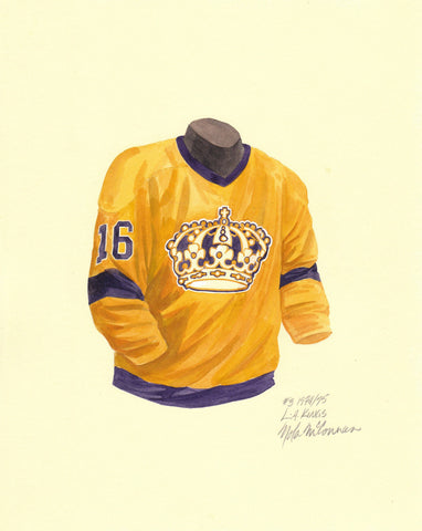 Los Angeles Kings 1974-75 - Heritage Sports Art - original watercolor artwork - 1
