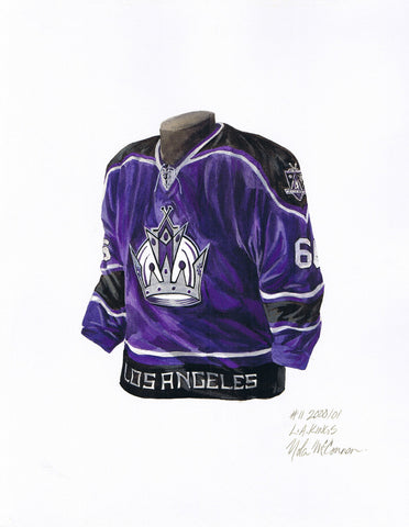 Los Angeles Kings 2000-01 - Heritage Sports Art - original watercolor artwork - 1