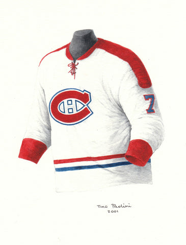 Montreal Canadiens 1970-71 - Heritage Sports Art - original watercolor artwork - 1