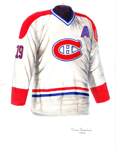 Montreal Canadiens 1988-89 - Heritage Sports Art - original watercolor artwork - 1